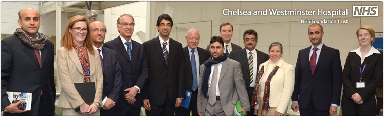 Chelsea and Westminster hosts delegation from UAE