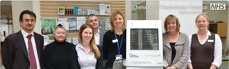 StartHere launched at Chelsea and Westminster Hospital