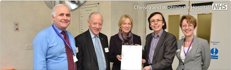 Trust receives special award from Dr Foster
