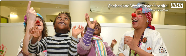 Giggle Doctors spread smiles to Chelsea Children's Hospital patients