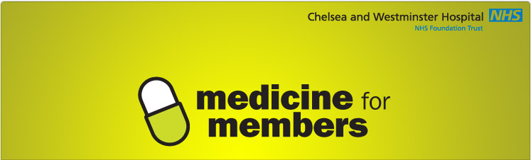 'Medicine for Members' free health event—Tuesday 1 May