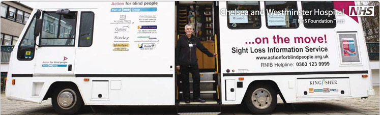 Mobile Sight Loss Information Service visits Kensington Town Hall