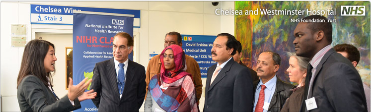 World Health Organisation delegates visit Chelsea and Westminster