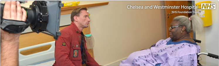 Chelsea and Westminster Hospital on TV—Monday 14 January