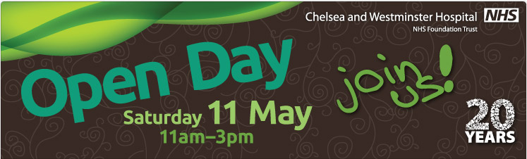 Chelsea and Westminster Hospital's Open Day promises to be the biggest yet