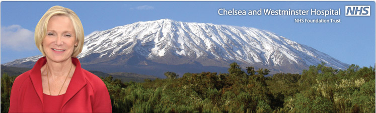 Kilimanjaro challenge for Heather Lawrence