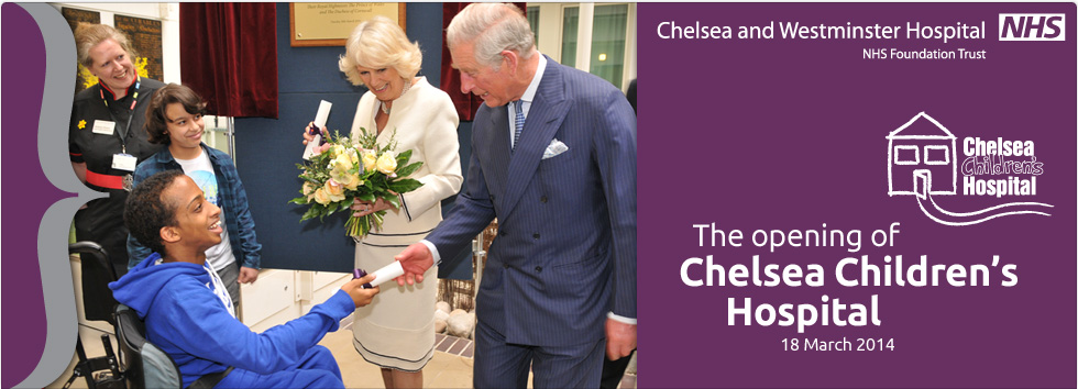The opening of Chelsea Children's Hospital
