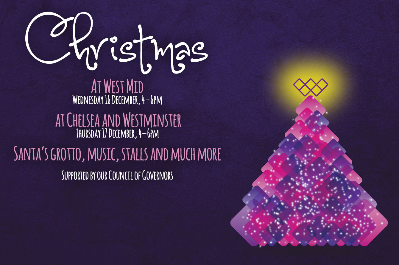 Festive fun at Chelsea and Westminster and West Mid
