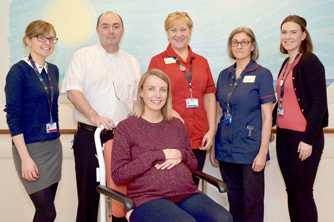 £2k to fund dedicated wheelchairs for maternity at Chelsea and Westminster thanks to charity support