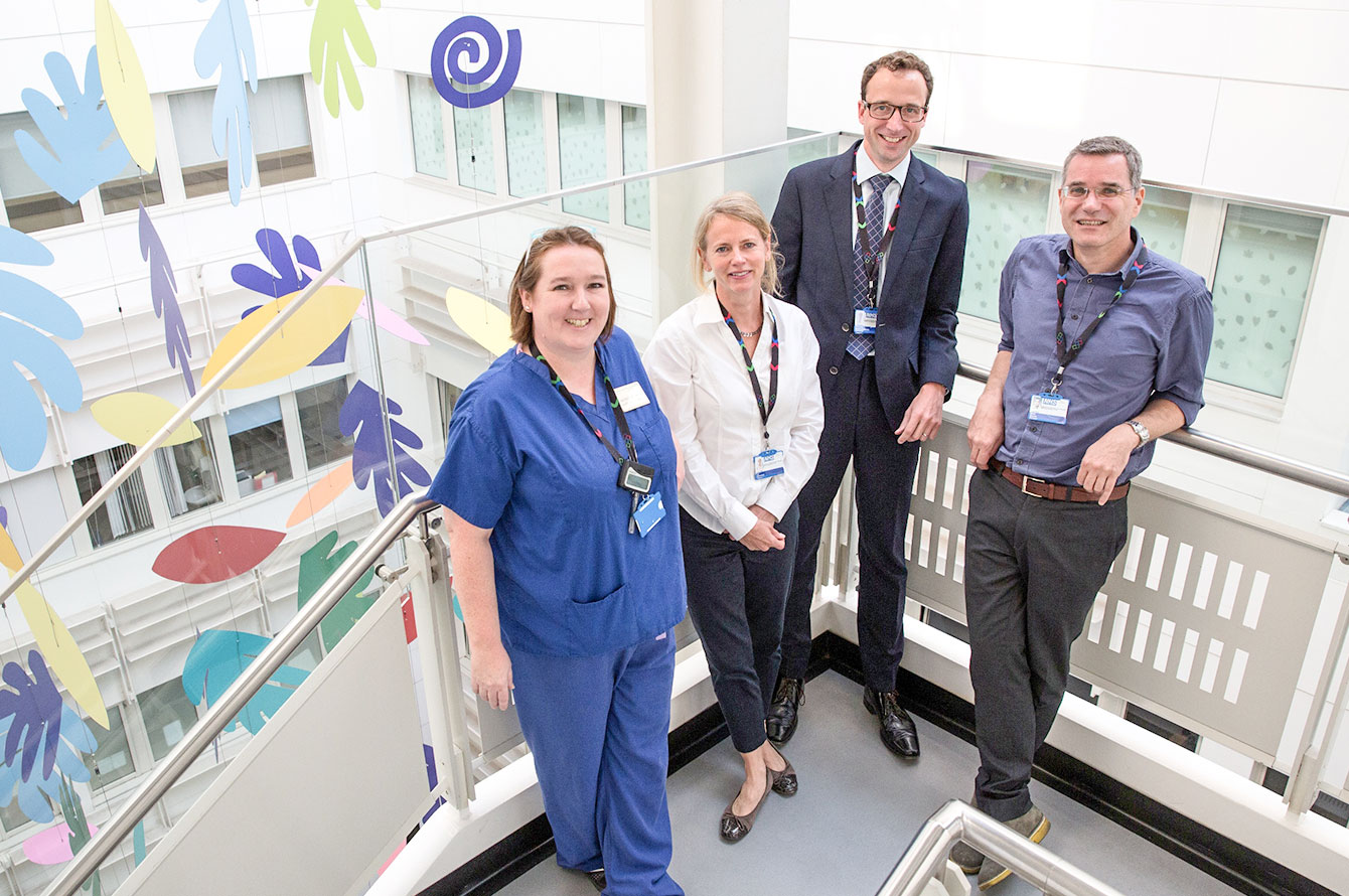Chelsea and Westminster Hospital cancer service shortlisted for Macmillan Excellence award