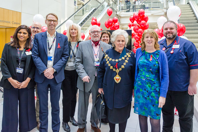 Mayor visits award winning HIV services to mark World AIDS Day