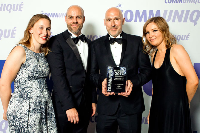 56 Dean Street takes home three Communiqué Awards for PRIME service