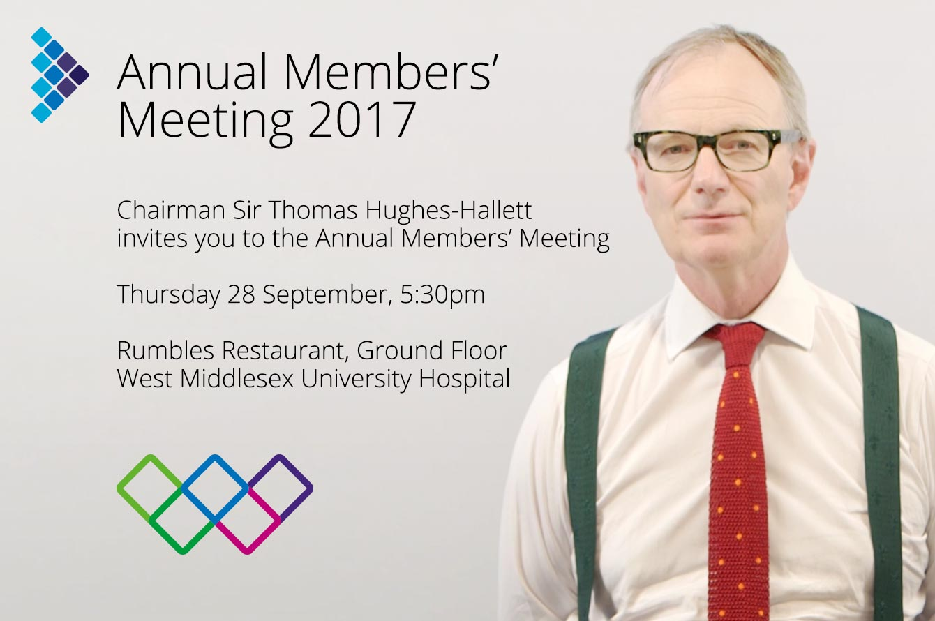 Join us for our Annual Members' Meeting—28 September