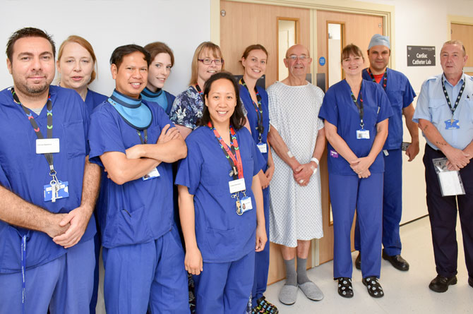 Cardiac centre welcomes its 1,000th patient