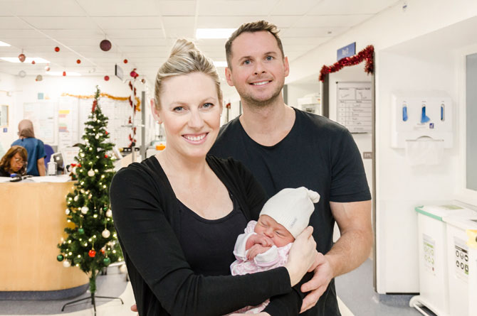 Christmas comes early for Chelsea and Westminster Hospital