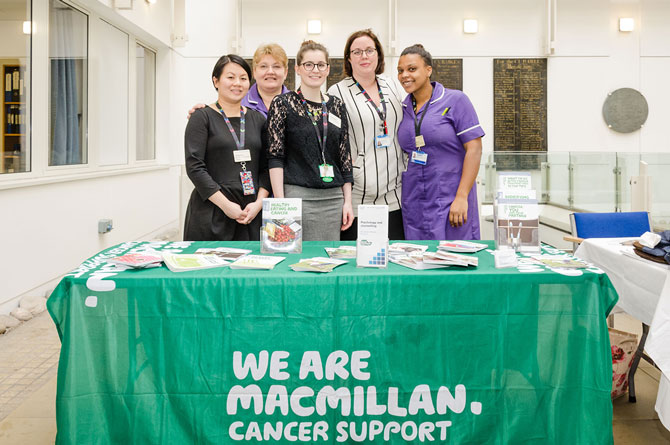 First independent health and wellbeing event for cancer patients at Chelsea and Westminster