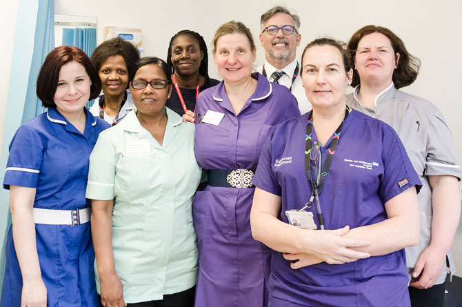 Valued member of staff retires after 17 years at Chelsea and Westminster Hospital