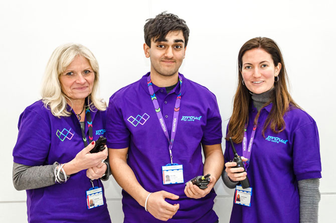 A single bleep helps volunteers make a real difference at top London hospital