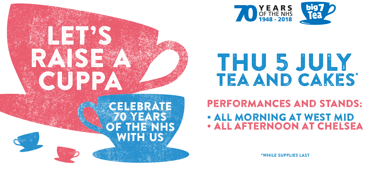 The NHS is turning 70 and your local hospital is inviting you to join in the celebrations