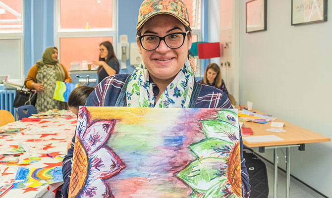 Art therapy helps reduce anxiety in pregnancy