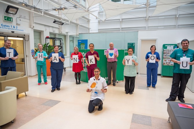 #OneMillionClaps appeal for health service heroes launches
