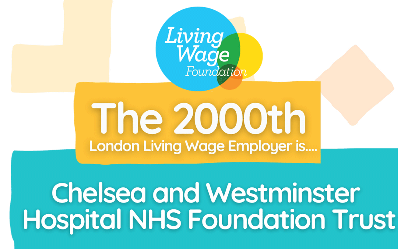Trust 2,000th London Living Wage employer