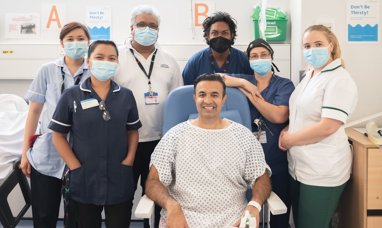 Trust celebrates its first day case hip replacement surgery